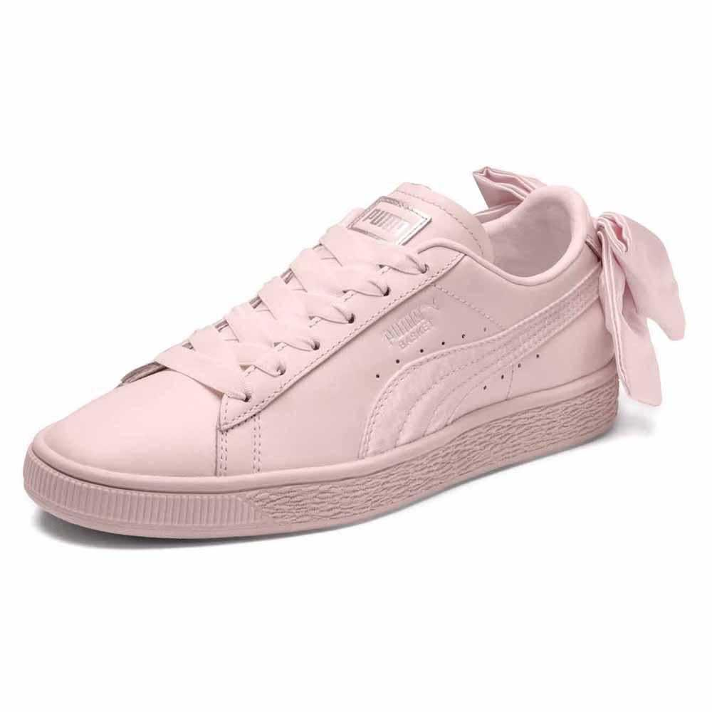 4c9d13eea8f Puma select Basket Bow Pink buy and offers on Dressinn