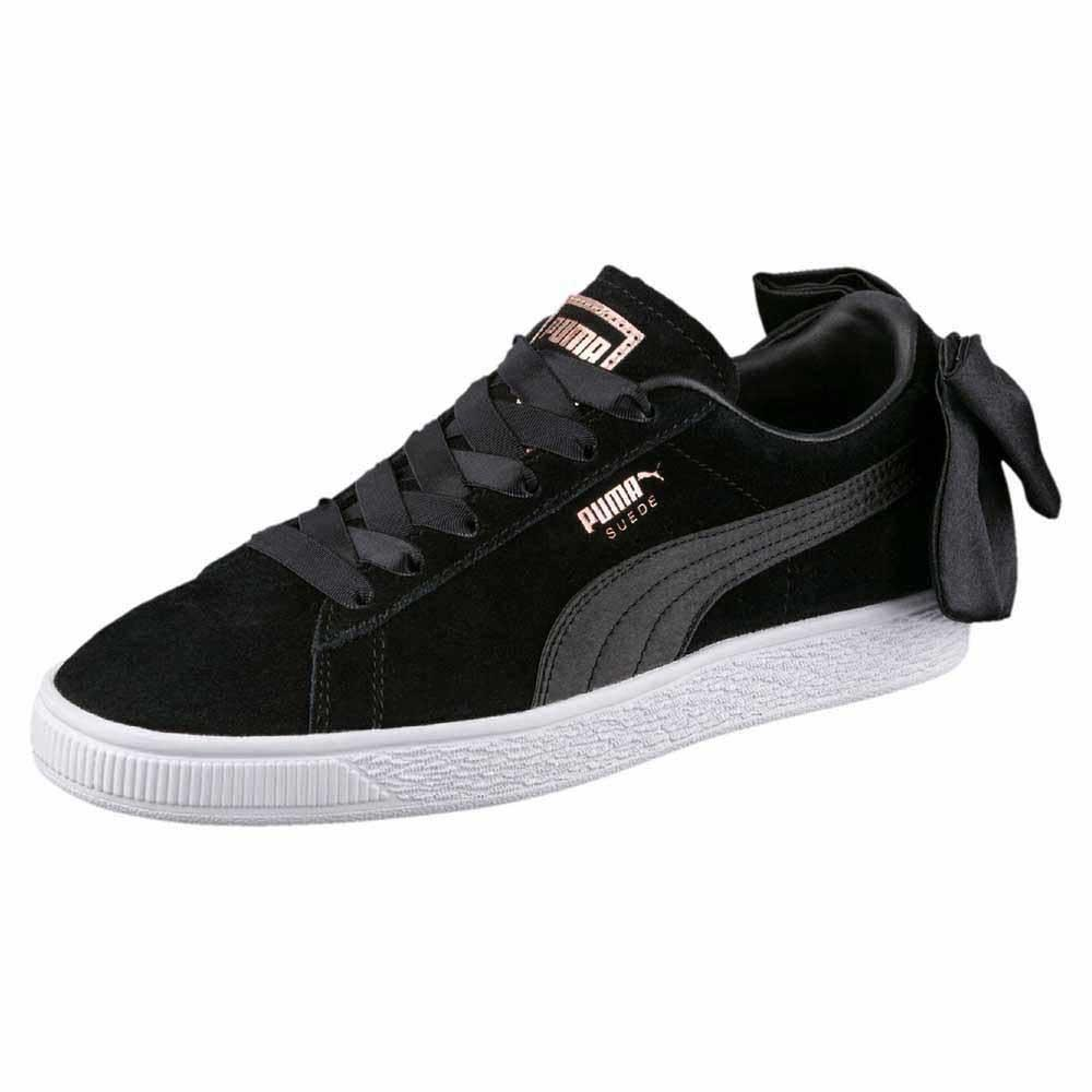 115eceee9aa Puma select Suede Bow Black buy and offers on Dressinn
