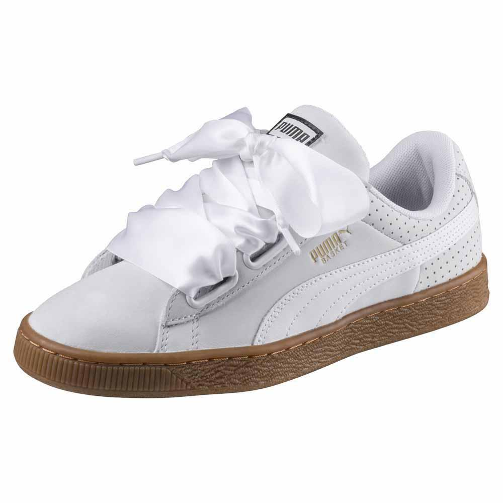 4e3b60a3380c99 Puma select Basket Heart Perf GUM White