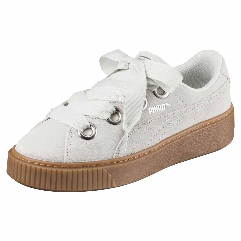 46be338caea Puma select Platform Kiss Suede Grey buy and offers on Dressinn