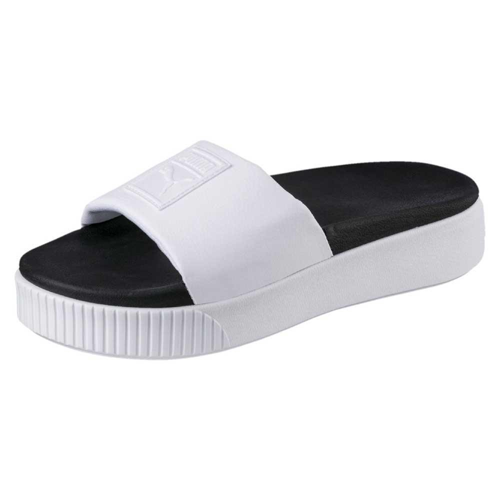 fa649e8a0a0 Puma select Platform Slide White buy and offers on Dressinn