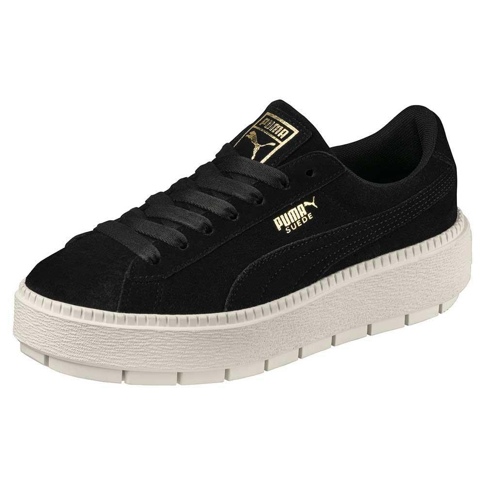 0fdc3ab71be232 Puma select Suede Platform Trace Black