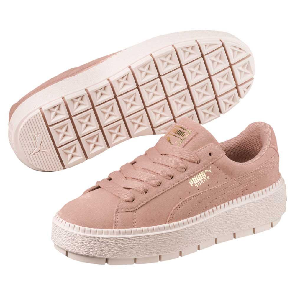 big sale 190e8 50846 Puma Platform Trace Women's Trainers