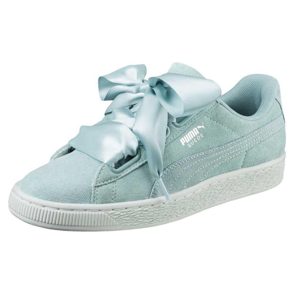 4accfa2b0c8332 Puma select Suede Heart Pebble Blue buy and offers on Dressinn