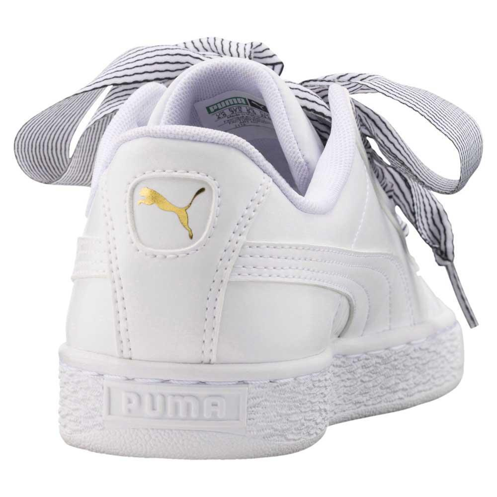 32911bcdd4644c Puma select Basket Heart White buy and offers on Dressinn