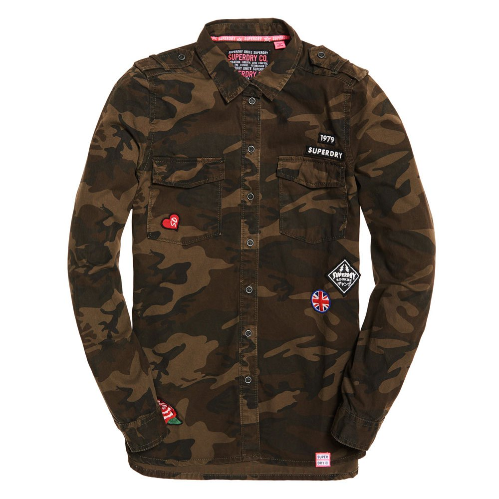 Chemisiers et chemises Superdry Military
