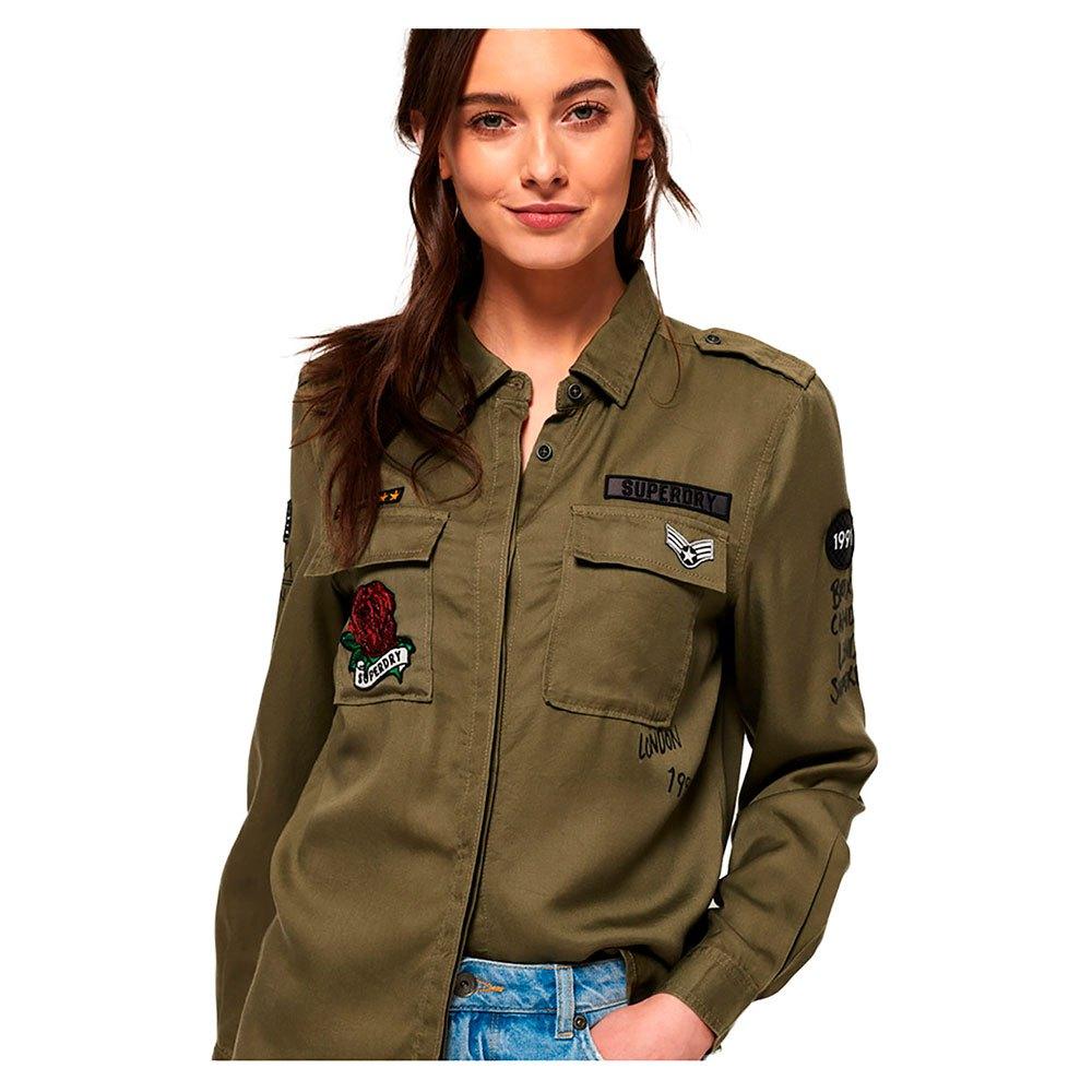Chemisier style militaire Emma Chemises pour Femme