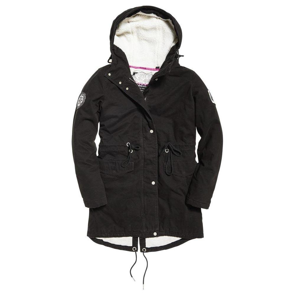 Superdry Rookie Sienna Parka Jacket Women's Jackets and Coats