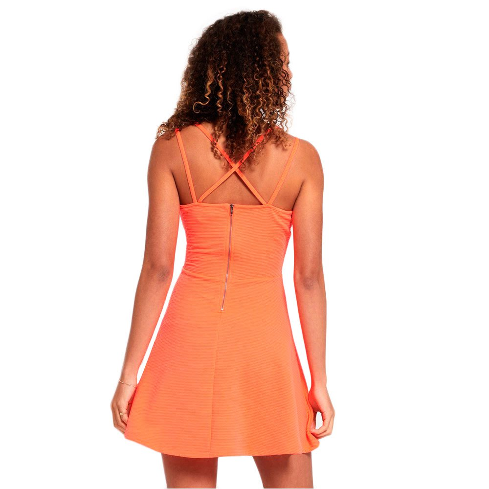 Superdry Womens Textured Skater Cami Dress