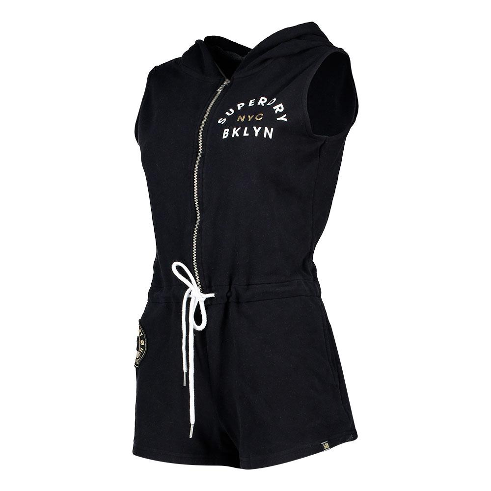 4a59bf1778 Superdry Pacific Sport Playsuit Negro