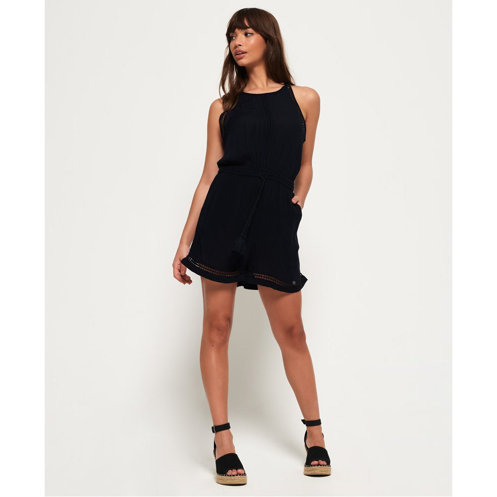 jumpsuits-superdry-high-neck-playsuit