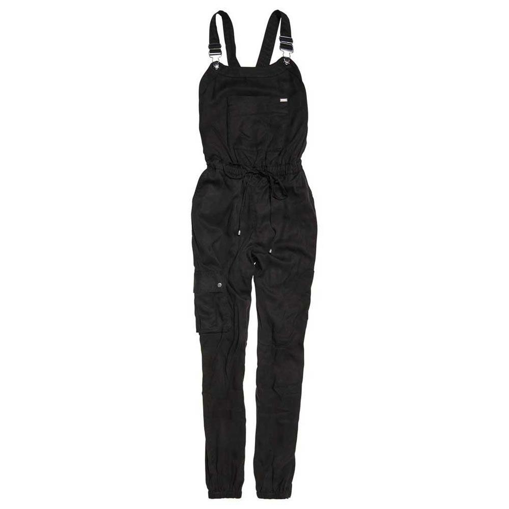 8a31cbfebd21 Superdry Sadie Cargo Jumpsuit Black buy and offers on Dressinn