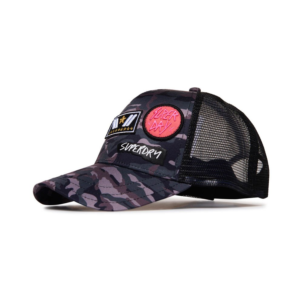 76877ea0 Superdry Camo Trucker Multicolor buy and offers on Dressinn