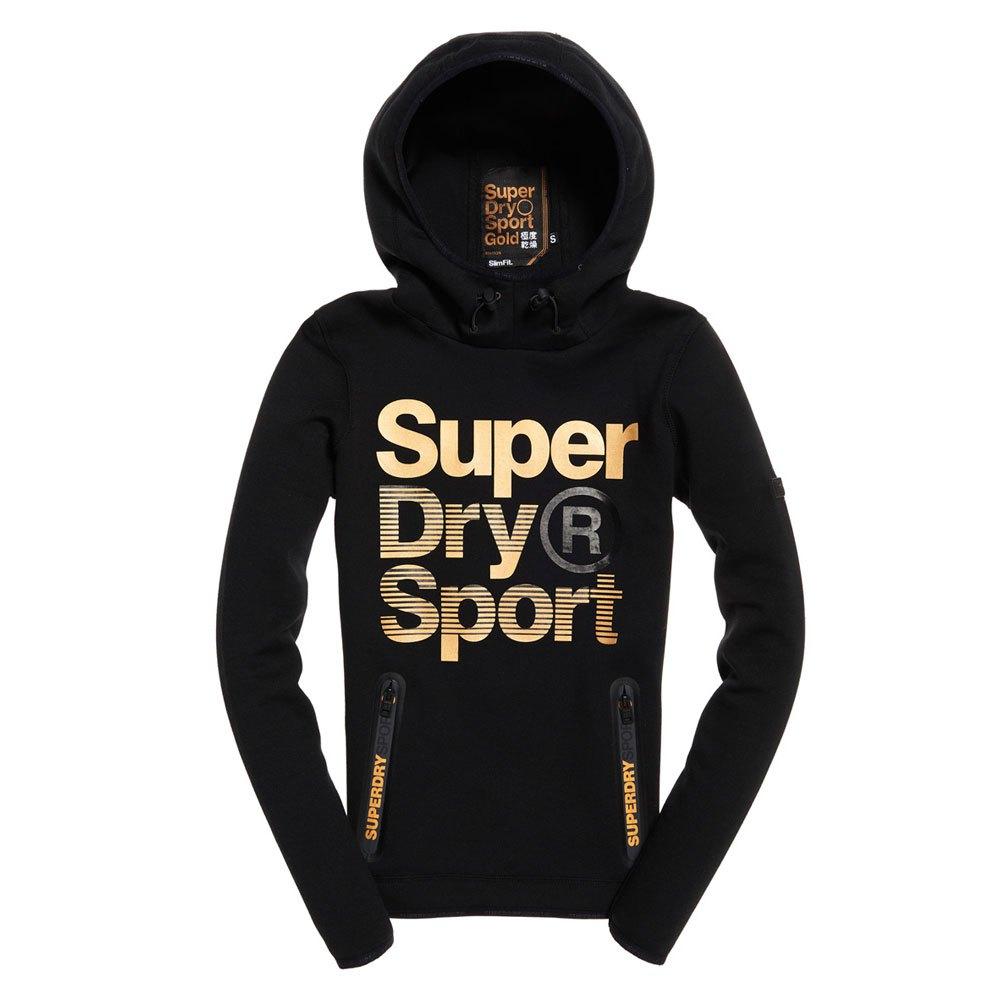 Superdry Gymtech Gold Medal Hood Black 625dd30acda
