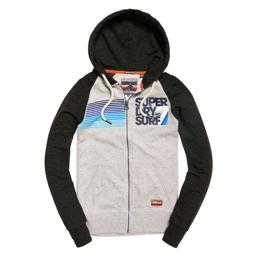 Superdry NO 7 Surf Lite Raglan Zip Hoodie