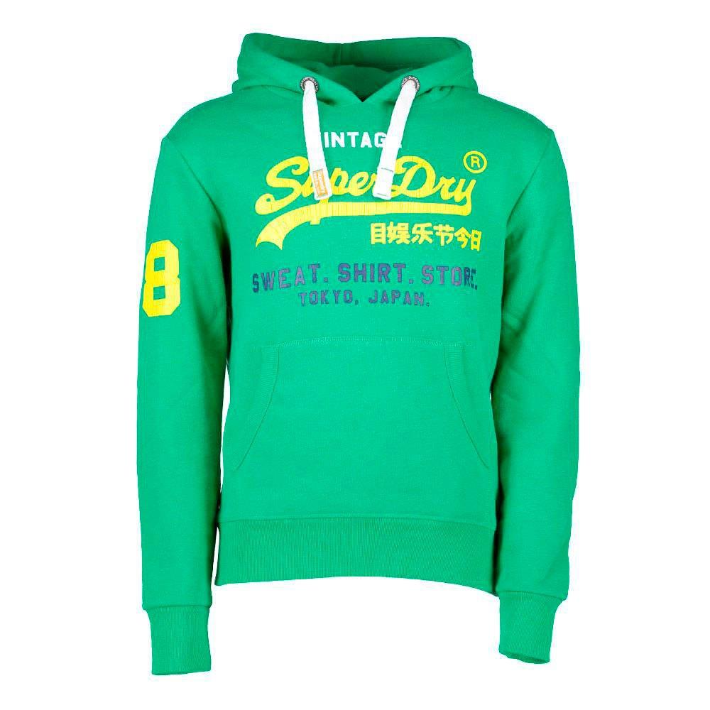 835207326a03c Superdry Sweat Shirt Store Tri Hood Vert, Dressinn