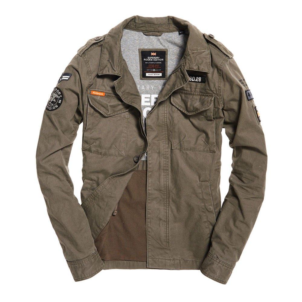 Superdry Rookie Patched Deck Jacket | Deck