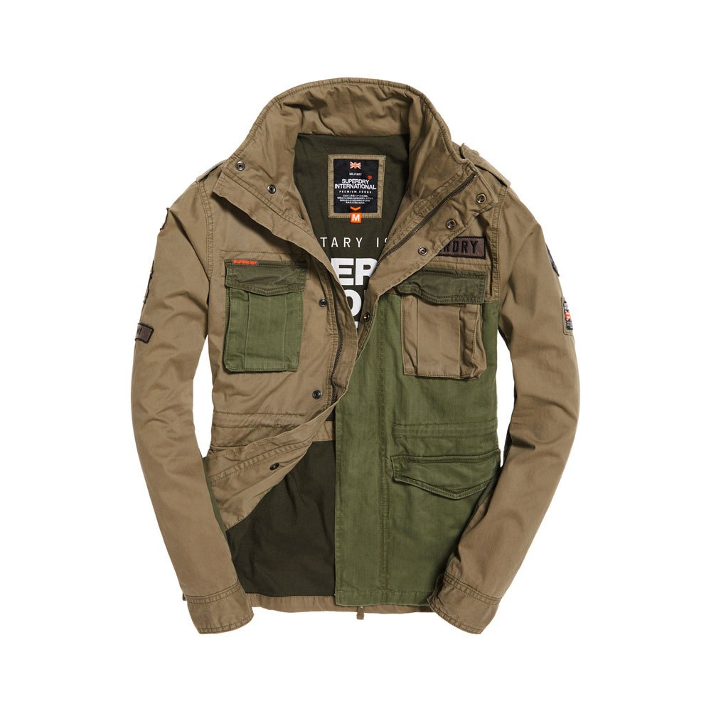 quality design 17575 323a6 Superdry Rookie Mixed Military