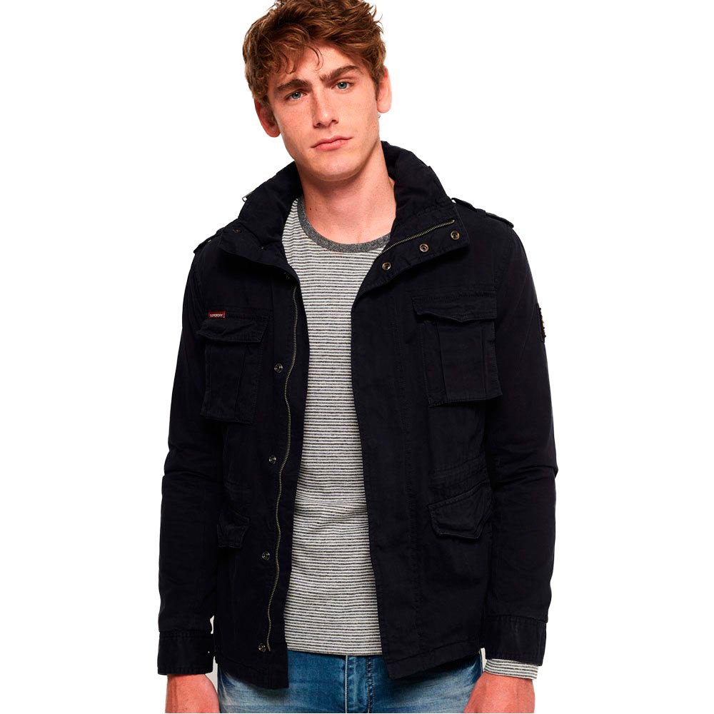 Blauw Dressinn Classic Military Superdry Rookie wAXcg