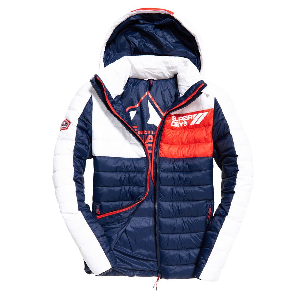 the best attitude c6e65 d7472 Superdry Colour Blox Fuji White buy and offers on Dressinn