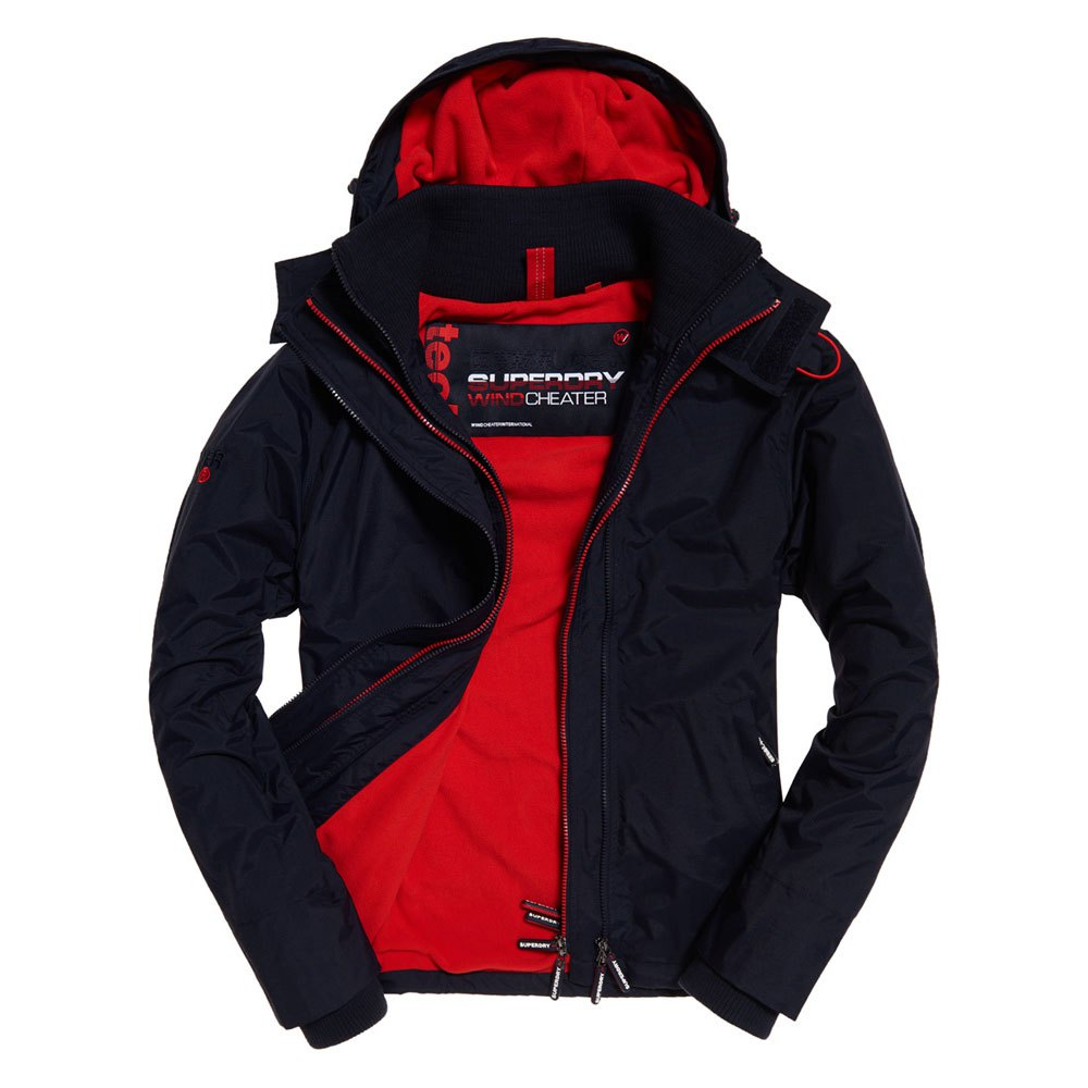 Superdry Arctic Hood Pop Zip Windcheater