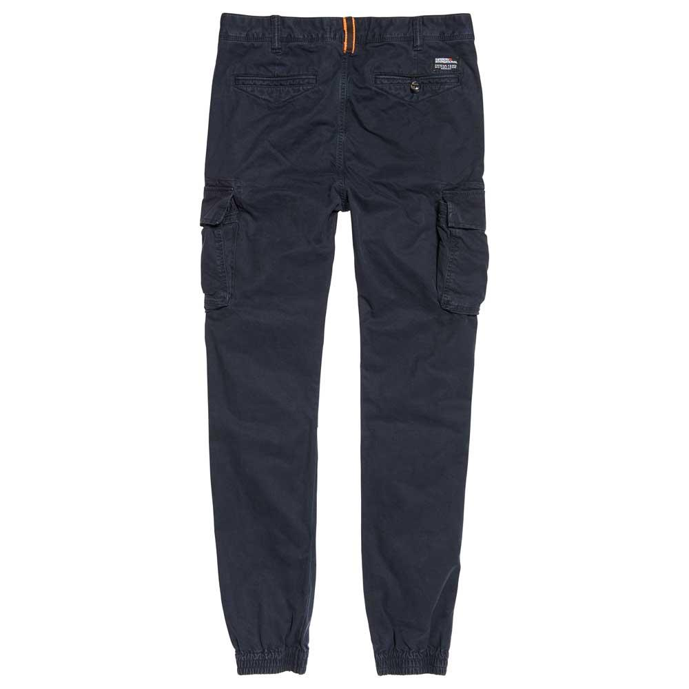 Superdry Rookie Grip Cargo L34 Blue Buy And Offers On Dressinn