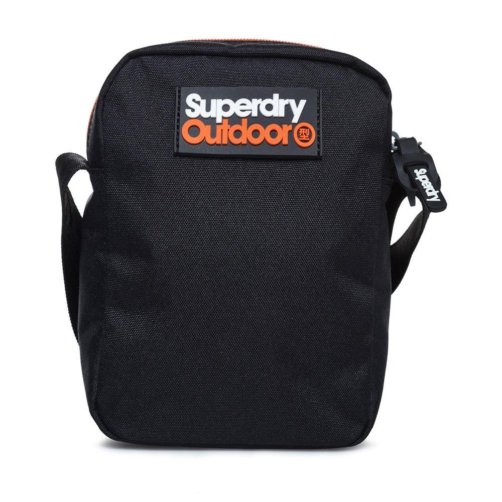 720c9511e Superdry Lineman Perf Sidebag Negro, Dressinn