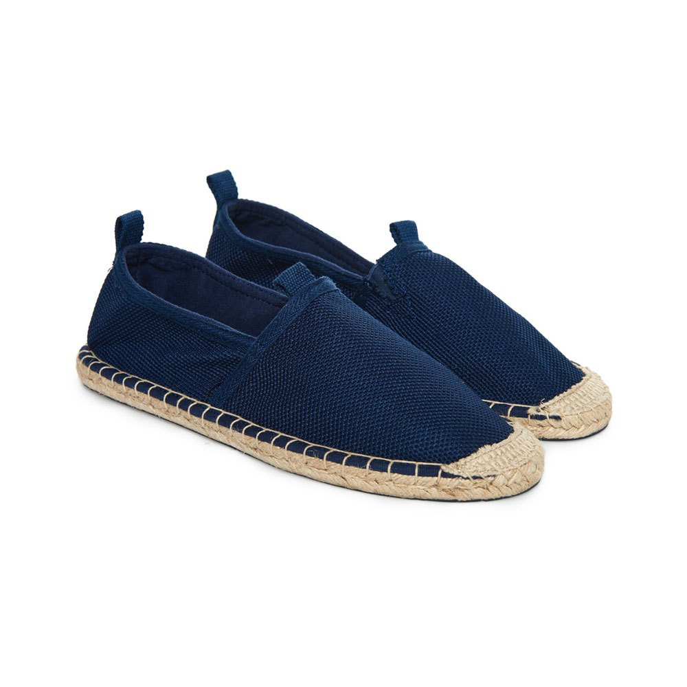 Superdry Premium Espadrille Blue buy and offers on Dressinn d6b27ba83ea3