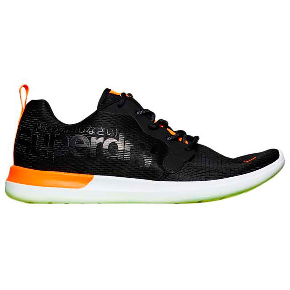 a20fa7809 Superdry Hyper Core Runner Black buy and offers on Dressinn