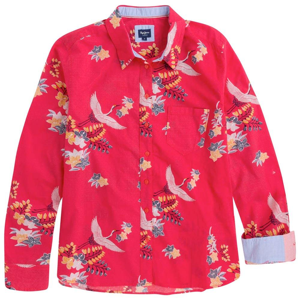 buy online 36472 331e8 Pepe jeans Kimy Red buy and offers on Dressinn