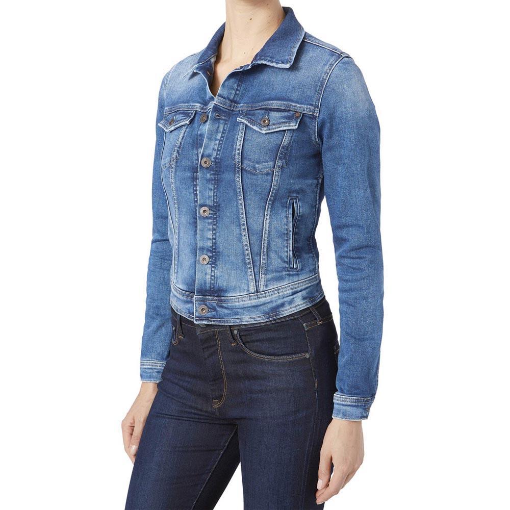 Pepe jeans Core Jacket Blue buy and offers on Dressinn b6dcd33fe
