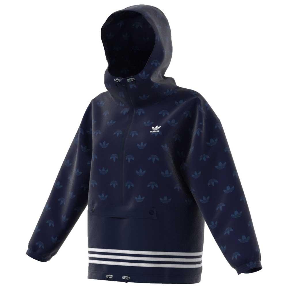 adidas originals Windbreaker Blå kjøp og tilbud, Dressinn