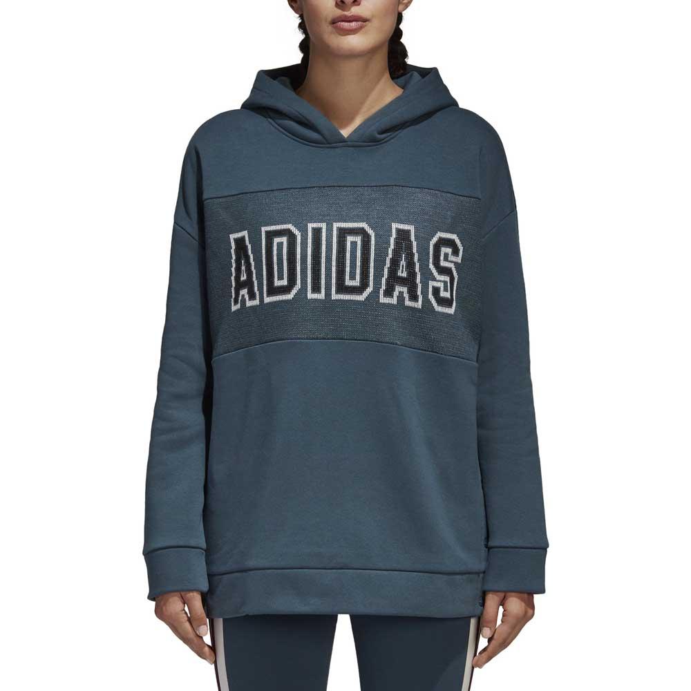 adidas originals Adibreak Hoodie Blå, Dressinn Huvtröjor