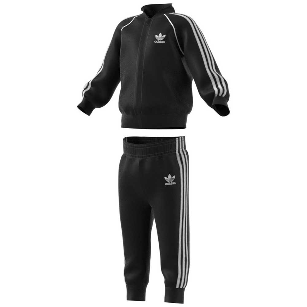 728d5f0167edc adidas originals SST Tracksuit Black buy and offers on Dressinn