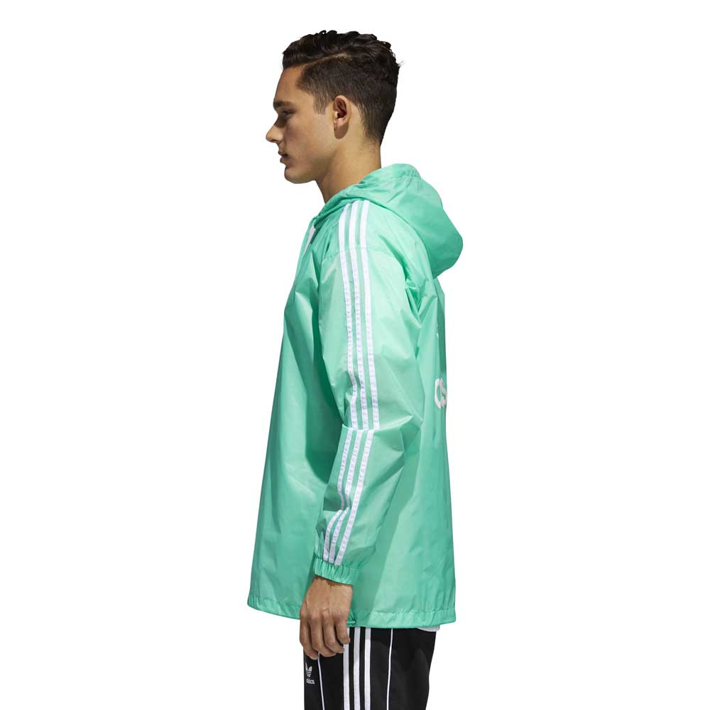adidas originals Poncho Windbreaker Zielony, Dressinn Kurtki