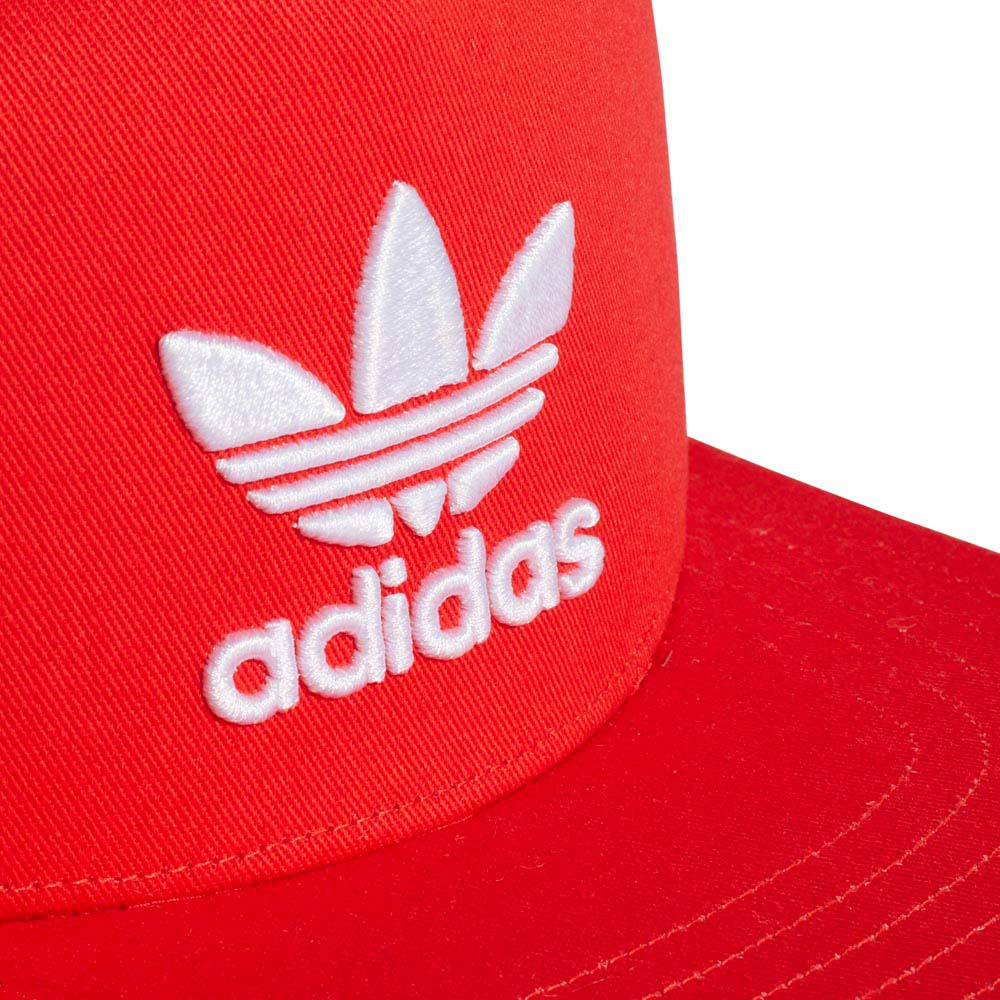 cd6819762f7 adidas originals Trefoil Snapback Red buy and offers on Dressinn