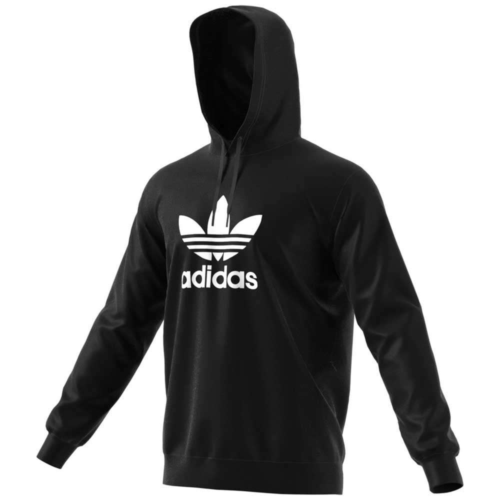 a71ebee45ce5 adidas originals Trefoil Warm Up Hoodie Black
