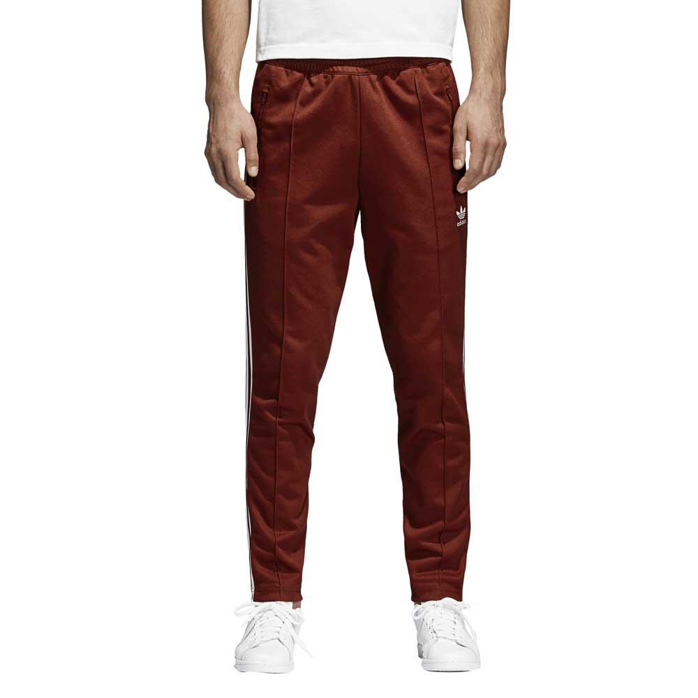 adidas originals Franz Beckenbauer Track Pants Red 695fc52c45