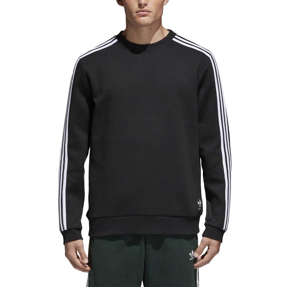 adidas originals Curated Crew Preto, Dressinn Suéteres esportivo