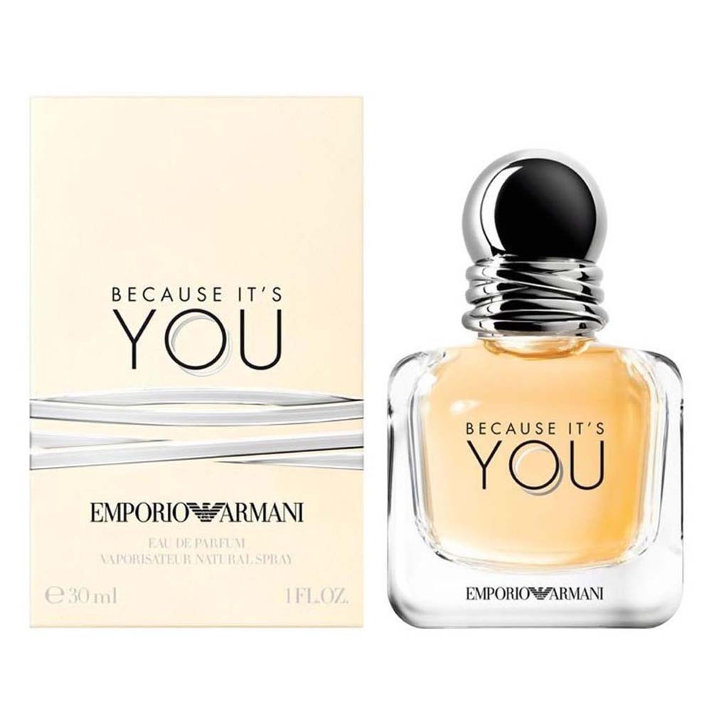 Giorgio Armani Fragrances Because You Eau De Parfum 30ml Vapo Clear
