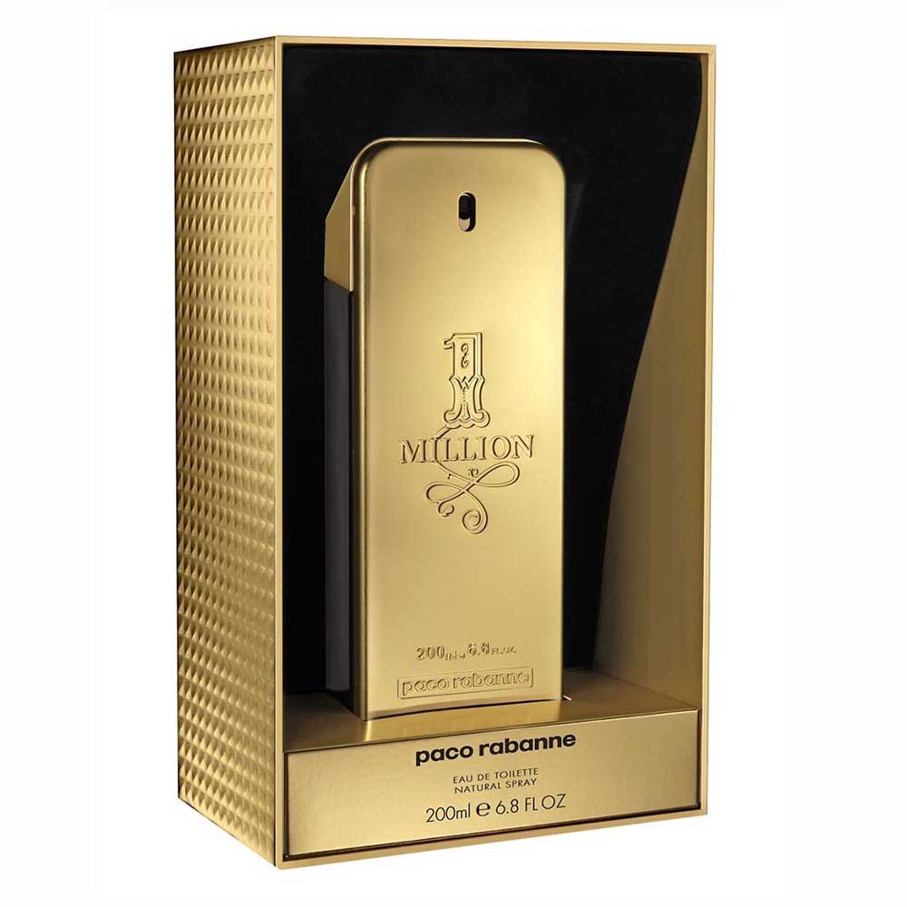 Paco Rabanne Fragrances 1 Million Eau De Toilette 200ml Vapo Limited