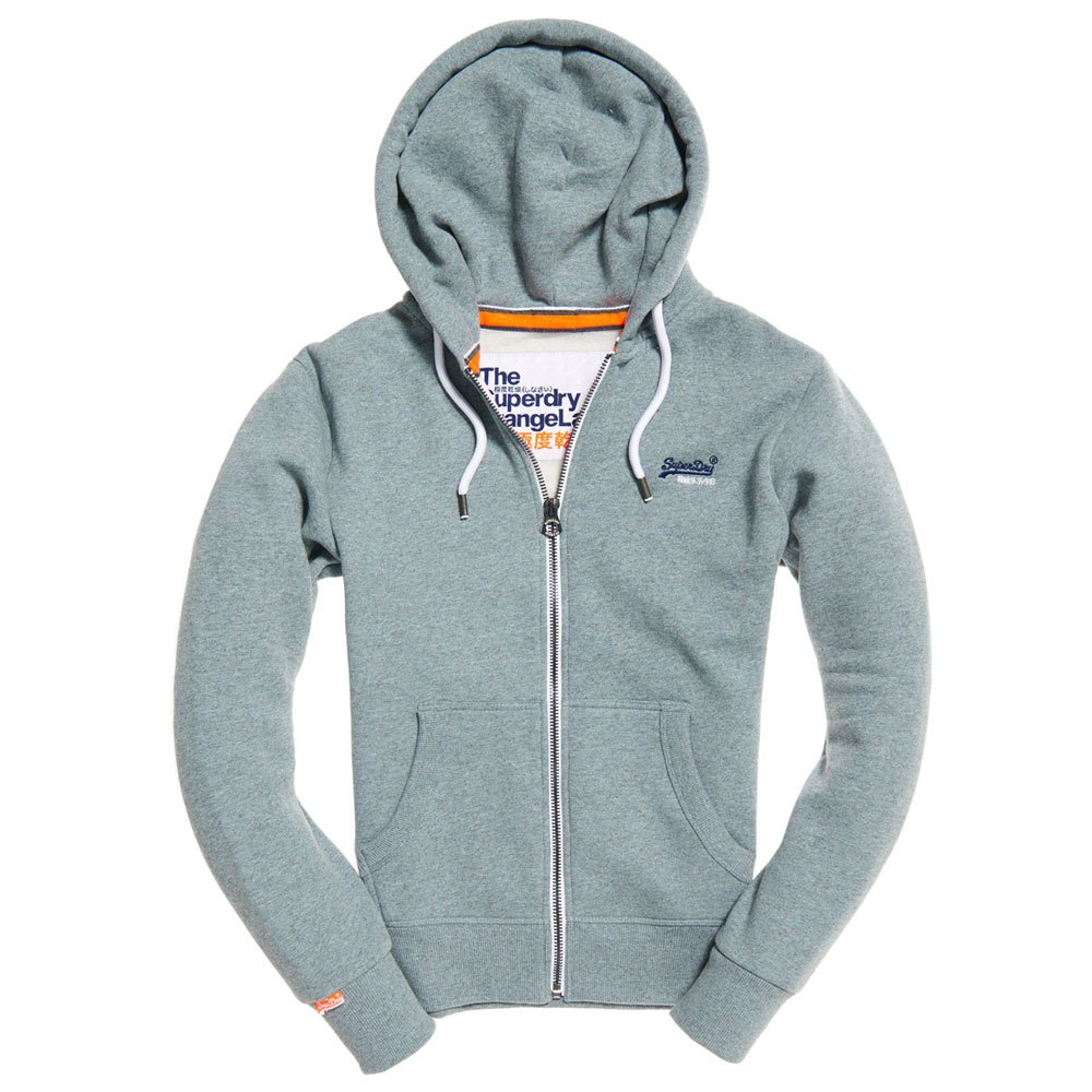 Superdry Orange Label Ziphood Blue buy and offers on Dressinn be888a4567c9