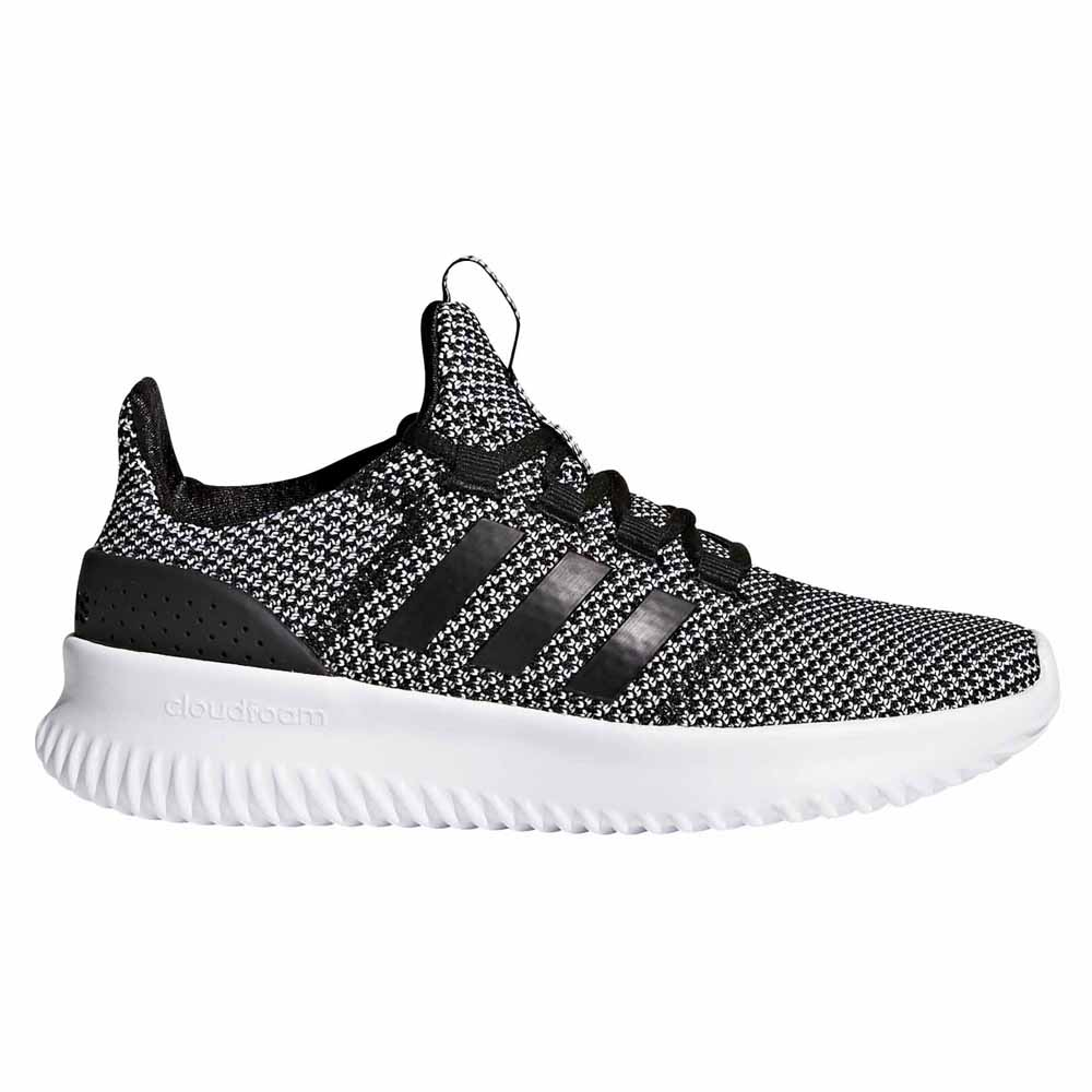 adidas Cloudfoam Ultimate Black buy and offers on Dressinn 21423aeba