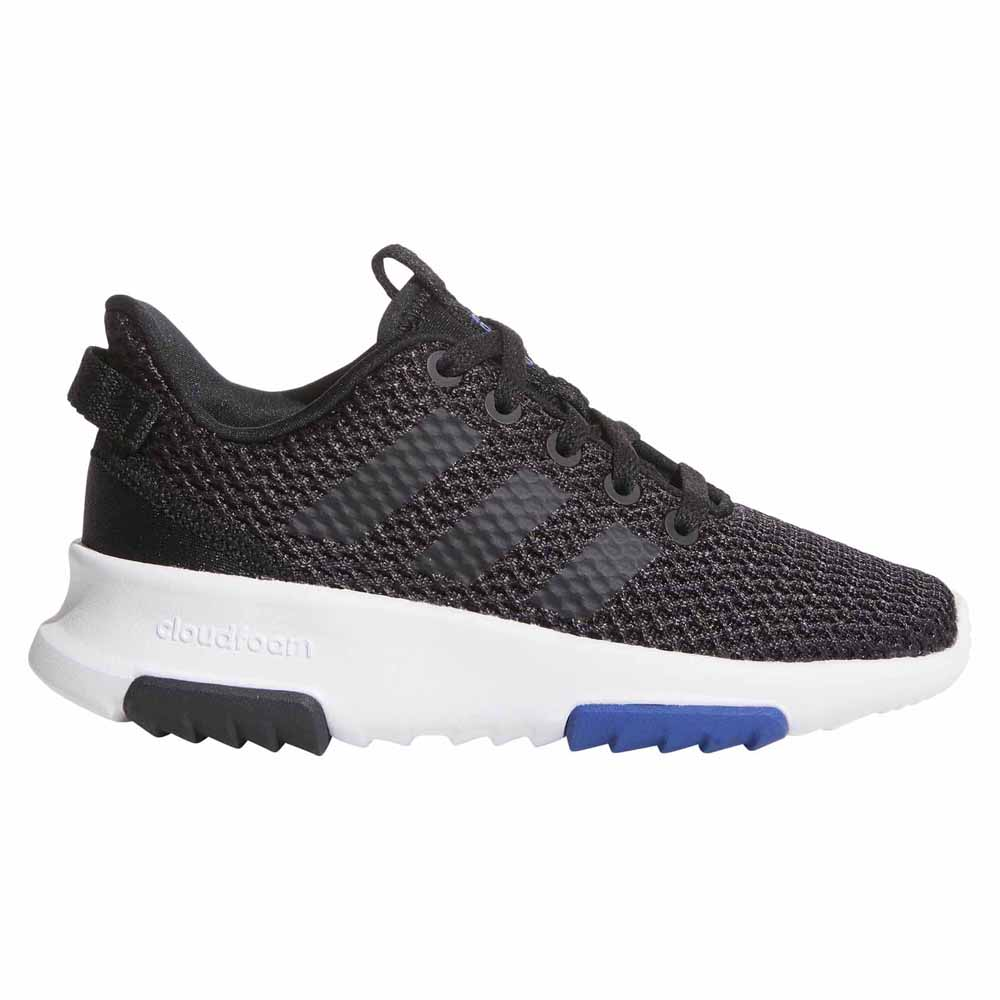 low priced f5b92 7947e adidas CF Racer TR K Black buy and offers on Dressinn
