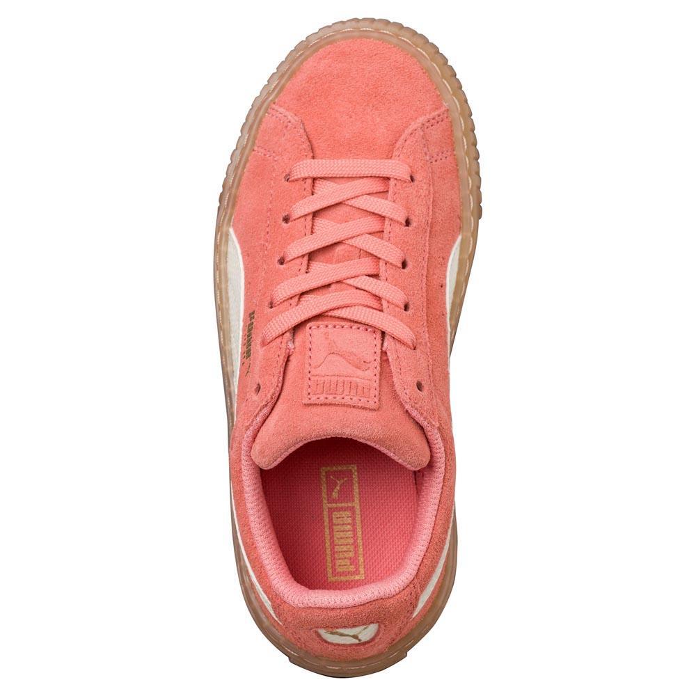 c1d131114759 Puma select Suede Platform Snk PS Pink