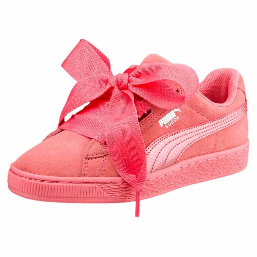 e8a0c69110f1 Puma select Suede Heart Snk Pink buy and offers on Dressinn