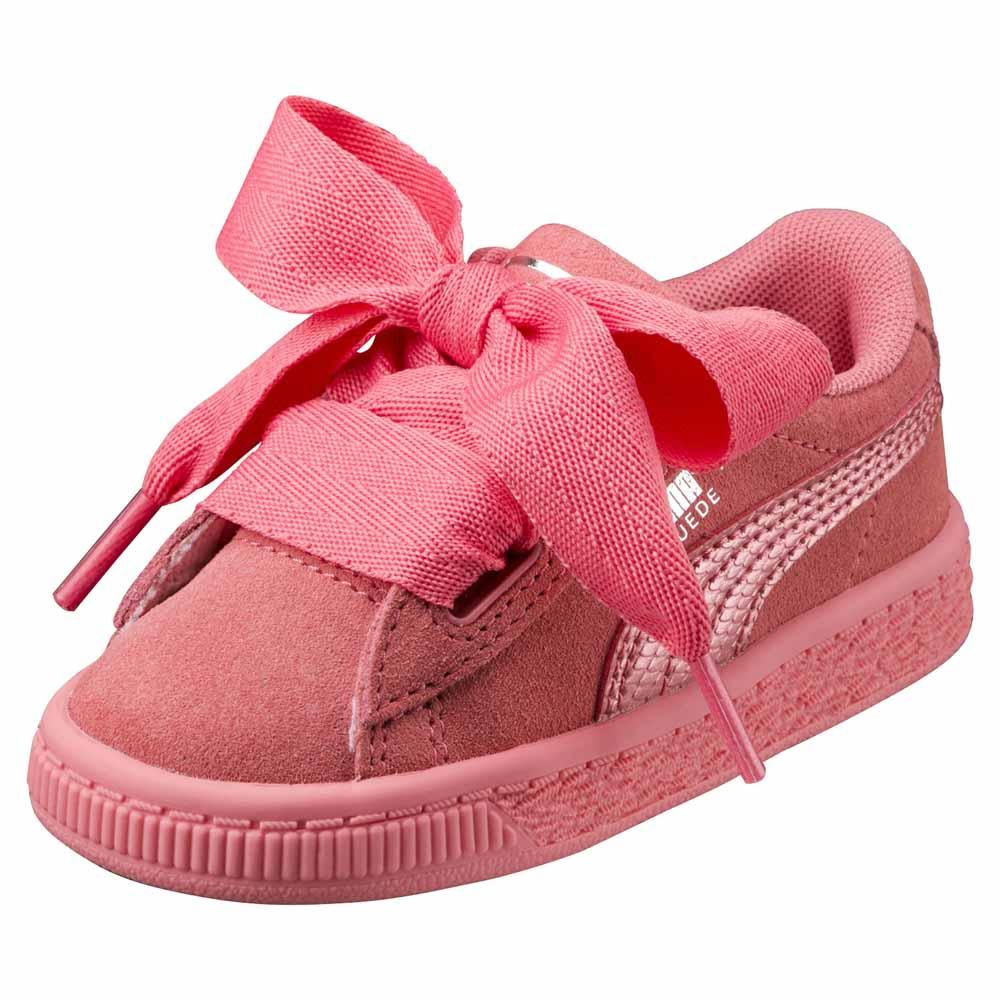 Puma select Suede Heart Snk Infant Rosa, Dressinn Sneakers