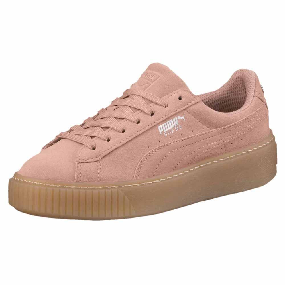 brand new 1e2dc 99745 Puma select Suede Platform Jewel Pink buy and offers on Dressinn