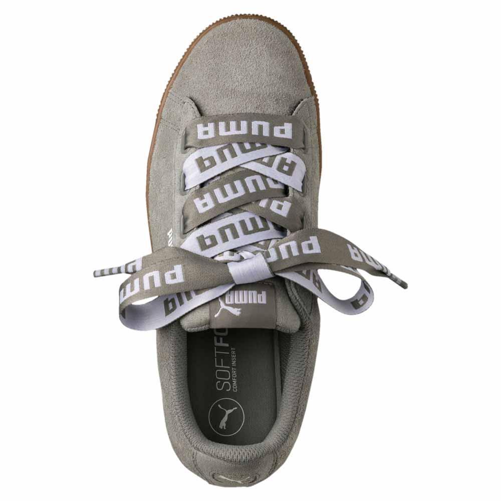 Puma Vikky Platform Ribbon Bold Bruin, Dressinn Sneakers