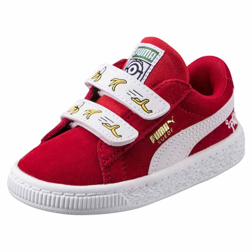 Puma select Minions Suede Velcro Infant Red 89b1c6c72